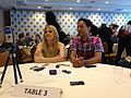 Gillian Jacobs & Danny Pudi at SDCC 2011.jpg