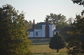 National Register of Historic Places listings in Sussex County, Virginia - Image: Glenview farmhouse from the north