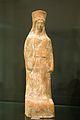Goddess peplos kalathos terracotta Boeotia 450 - 400 BC, Prague Kinsky, NM-HM10 5461, 140927.jpg