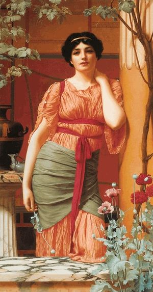 1906 in art - Image: Godward Nerissa