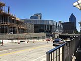 Golden 1 Center under construction.jpg