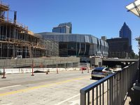 Golden 1 Center under construction.jpg
