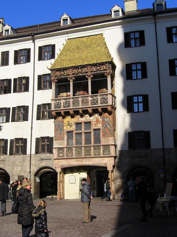 File Golden Roof In Innsbruck Austria Feb 28 2009 Jpg