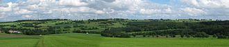 Vogelsberg - Landscape in the Vogelsberg (2012, Goldener Steinrück).