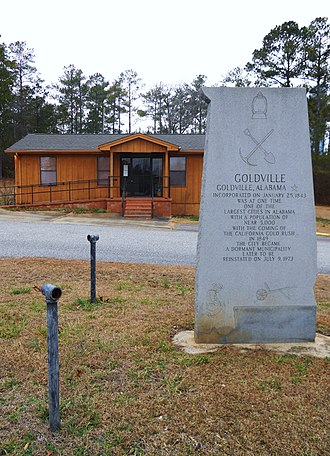 Goldville, Alabama - Image: Goldville Alabama