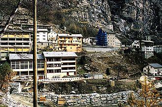Zwischbergen - Gondo village