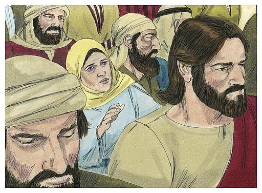 Gospel of Luke Chapter 8-30 (Bible Illustrations by Sweet Media)