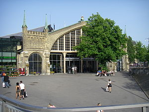 Gothenburg Central Station - The western entrance
