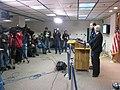 Gov. Malloy & Lt. Gov Wyman at State EOC discussing latest snowstorm (5392951843).jpg