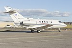 Government of Queensland (VH-SGY) Raytheon Hawker 850XP at Wagga Wagga Airport (7).jpg