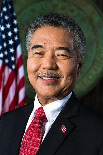 Governor of Hawaii - Governor David Y. Ige