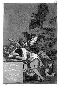 Франціско гойя сон розуму породжує