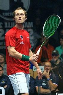 Grégory Gaultier French squash player