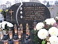 Grób prof. Elżbiety Dziegieć na Cmentarzu Parafialnym w Stobiecku Miejskim.jpg