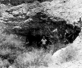 National Register of Historic Places listings in Culberson County, Texas - Image: Granado Cave