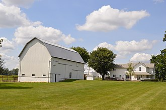 Grand Township, Marion County, Ohio - Farmstead on Irvin Shoots Road