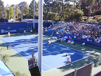 Los Angeles Tennis Center - Image: Grandstand Countrywide