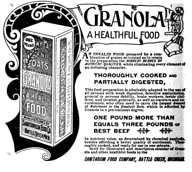 File:Granola advertisement, 1893.png