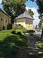 Grassalkovich-kastély, sarokpavilonnal záródó gazdasági szárny, 2017 Hatvan.jpg