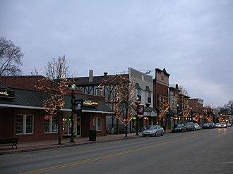 Grayslake, Illinois - Downtown Grayslake, Illinois