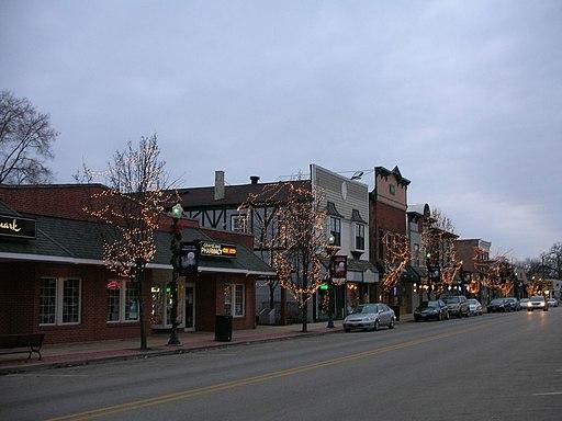 Grayslake, Illinois downtown
