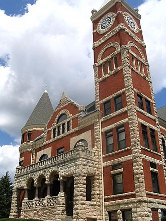 Green County, Wisconsin - Image: Green County Wisconsin Courthouse