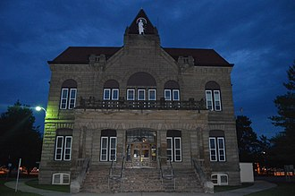Carrollton, Illinois - Carrollton Courthouse Square Historic District