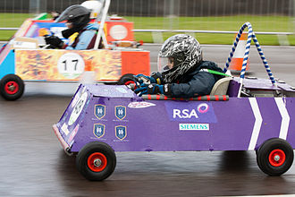 Greenpower - The Gathering of Goblins, at Goodwood Circuit