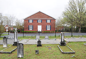 National Register of Historic Places listings in Greenwood County, South Carolina - Image: Greenville Presbyterian Church