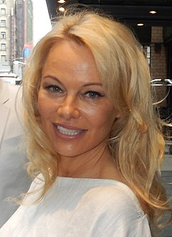 Pamela Anderson Canadian actress and model