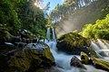 Grenjengan Kembar waterfall in Magelang Regency, Indonesia.jpg