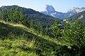 Gresse-en-Vercors Mont Aiguille (vue depuis environs du Pas du Serpaton) 1.jpg