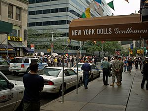 Strip club - The New York Dolls strip club played a prominent role in the Park51 controversy.