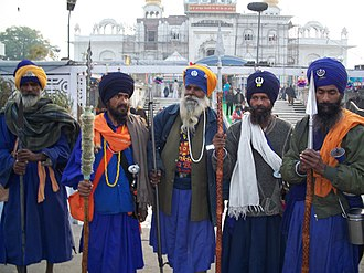 Nihang - A group of Nihang