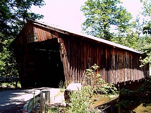 Gudgeonville Covered Bridge