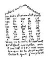 Guillaume Apollinaire - Calligramme - Poème du 9 février 1915 - Maison à colonnes.png