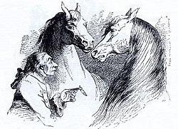 Gulliver u Hvajninimů - Grandville