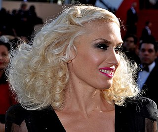 Gwen Stefani American singer-songwriter, record producer, musician, and actress
