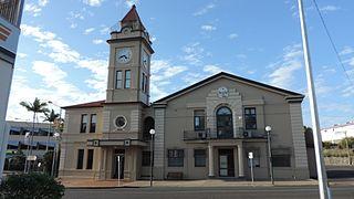 Gympie City in Queensland, Australia