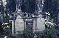 Házsongárdi temető. Újfalvi Sándor vadász, az első magyar vadászkönyv szerzőjének sírja. Fortepan 31839.jpg