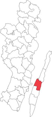 Gærdsløs landskommune i Kalmar amt