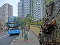 HK 北角半山 North Point Mid-Levels 雲景道 77 Cloud View Road view Skycraper n Coral Court Bus 27 stop Apr-2014.JPG
