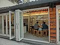HK 北角 North Point 油街實現 Oil Street Art Space exhibition house entrance Mar-2014.JPG