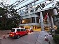 HK 灣仔北 Wan Chai North 博覽道東 Expo Drive East 會議道 Convention Avenue 菲林明道 Fleming Road evening October 2019 SS2 11.jpg