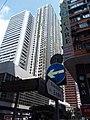 HK 灣仔 Wan Chai 莊士敦道 Johnston Road 石水渠街 Stone Nullah Lane name signs view 柯布連道 O'brien Road 修頓中心 Southorn Centre 修頓花園 Southorn Garden September 2019 SSG 02.jpg