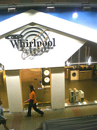 Delightful Showroom In Hong Kong. The Whirlpool Corporation ...