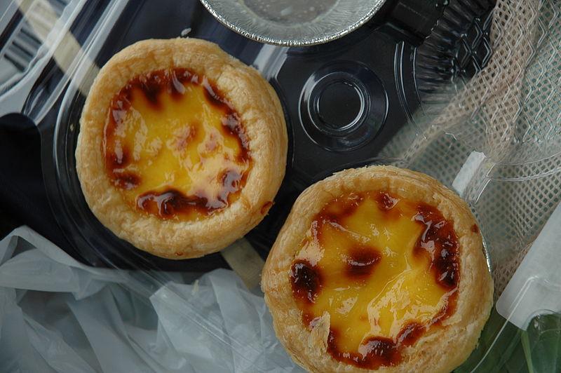 File:HK Macau-style-egg-tarts.jpg