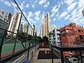 HK SW 上環 Sheung Wan 太平山街 Tai Ping Shan Street 卜公花園 Blake Garden view blue sky January 2020 SS2 04.jpg