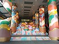 HK TST 尖沙咀 Tsim Sha Tsui 海港城 Harbour City front square view Ocean Centre entrance stairs CNY 農曆新年 裝飾 decoration January 2020 SSG 02.jpg