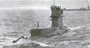 HMS B11 Under way decks awash.JPG